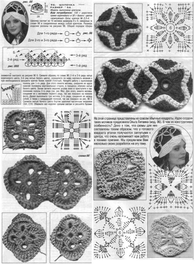 Gráficos y fotos de bolsos | Crochet en las nubes