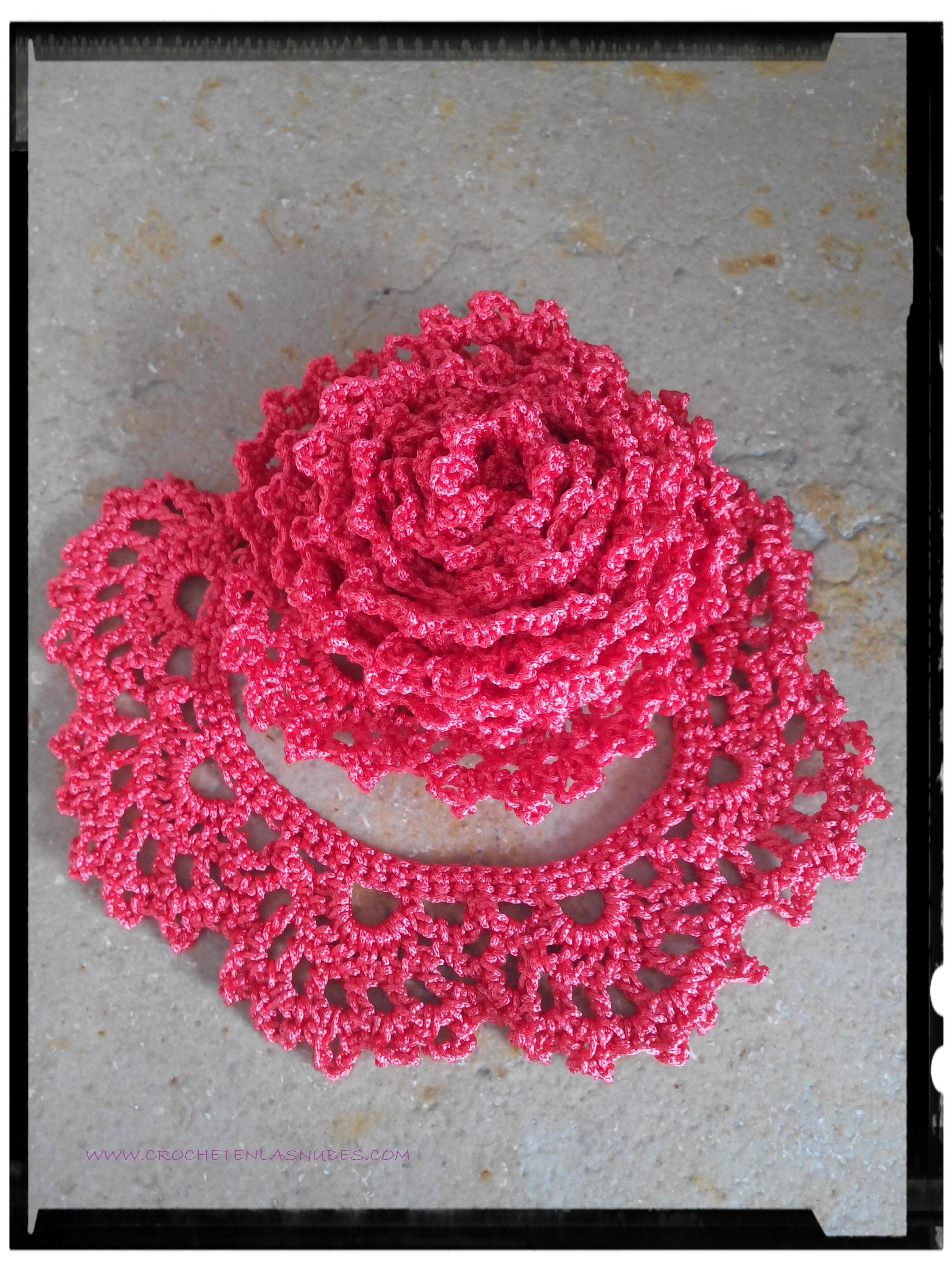 Collar Flores crochet . Presentación Reto Amistoso # 63 | Crochet en ...